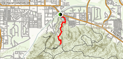 Araby Trail Map