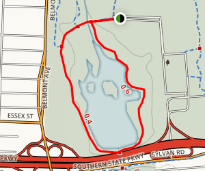 Belmont Lake Trail Map