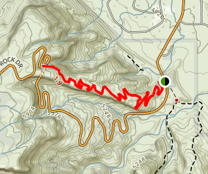 Serpents Trail Map
