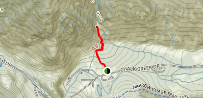 Agnes Vaille Falls Map