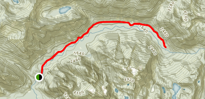Snoqualmie Lake Trail Map