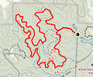 Opossum Hollow Trail Map