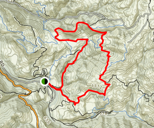 Cave Rocks Loop Map