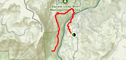 Wuh-Ki'o Trail Map