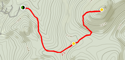 Spruce Mountain Map