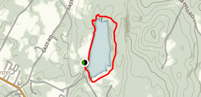 Colchester Pond Map