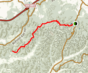 Siltstone Trail Map