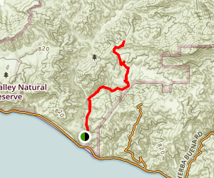 Serrano Canyon Map