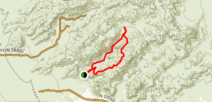 Wild Burro Trail Map