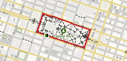 Capitol Park Loop Trail Map