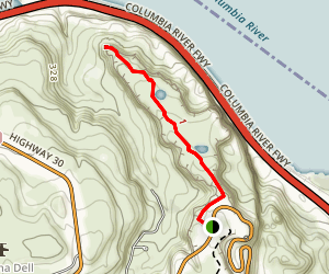 Rowena Plateau Map