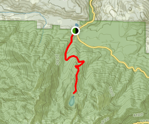Lake Angeles Trail Map