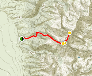 Mount Borah Trail Map