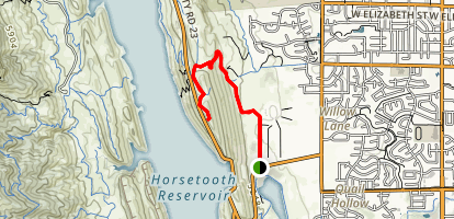 Foothills Trail: Maxwell Natural Area Map