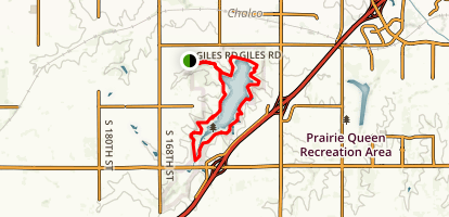 Chalco Hills Trails Map