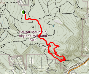Sky Country (Cougar Mountain) Trail Map