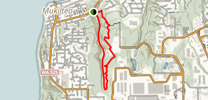 West Side Japanese Gulch Trail Map