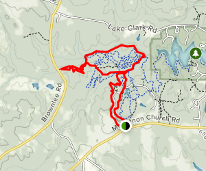 Dauset Trails Nature Center Map