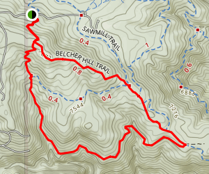 Belcher Hill Map
