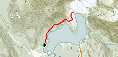 West Glacier Trail Map