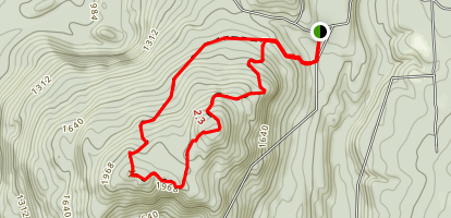 Bald Mountain Loop Hike Map