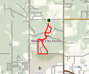 Midland City Forest Trail Map