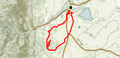 Community Ditch Trail Map