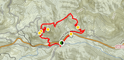 Cone Peak Trail Map