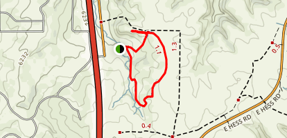 Glendale Farm Trail Map