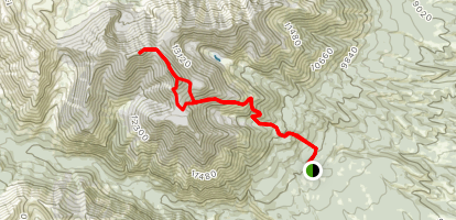 Mount Shavano and Tabeguache Peak Map