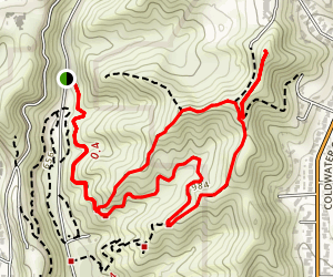 Hastain Trail Map