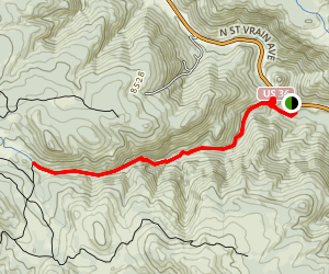 Lion Gulch [CLOSED] Map