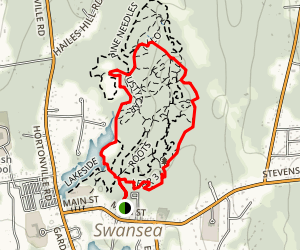 Bridges Trail to Rusty Car and Lakeside Loop Map