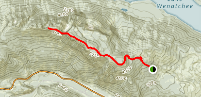 Alpine Lookout Trail Map