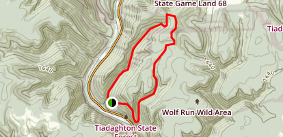 Golden Eagle Trail Map