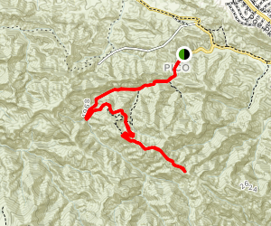 Mentryville: Pico Canyon Trail Map