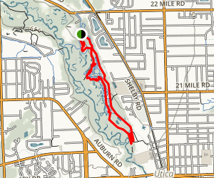 River Bends Mountain Bike Trail Map