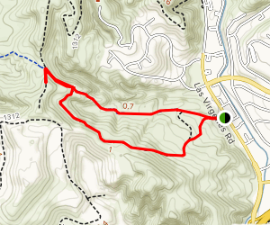 Morrison Ranch Trail Loop Map