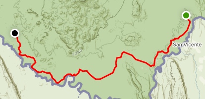 The River Road Trail Map