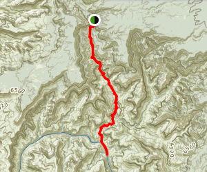 North Bass Trail Map