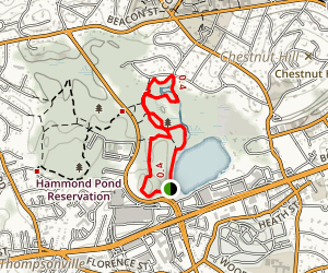 Hammond Pond Reservation Map