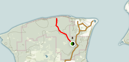 Miller Peninsula and Thompson Spit Trail Map