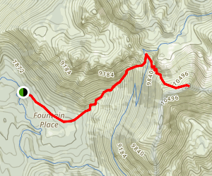 Freel Peak Trail Map
