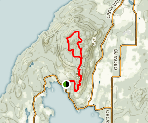 Turtleback Mountain South Trail  Map
