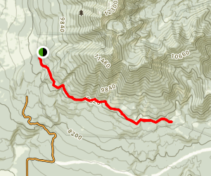 Kachina Trail Map