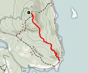 The Anvil Trail Map