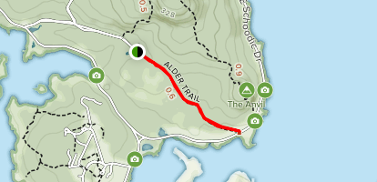 Alder Path Trail Map