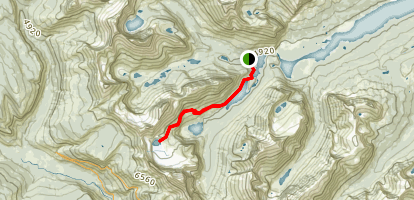 Grinnell Glacier Trail Map