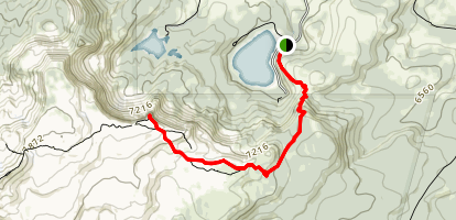 Tam McArthur Rim Trail Map