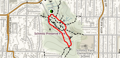 Schmitz Park Preserve: Seattle's Forest Past Map